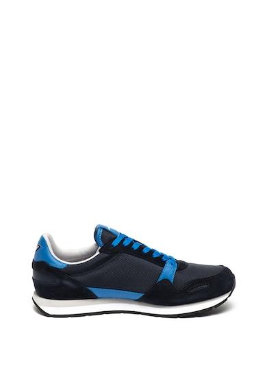 Emporio Armani Sneaker nyersbőr szegélyekkel férfi