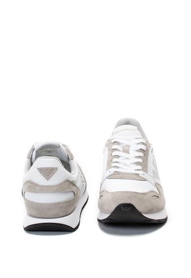 Emporio Armani Sneaker nyersbőr részletekkel férfi