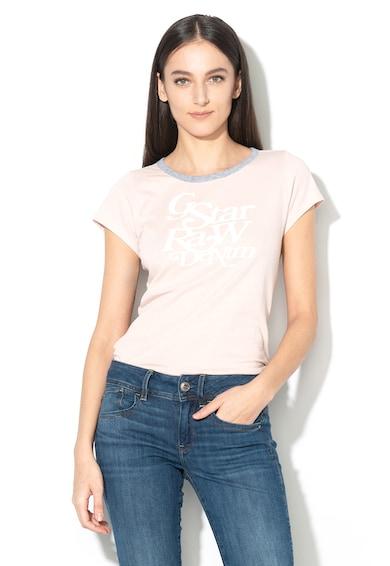 G-Star Raw Tricou slim fit cu imprimeu logo Civita Femei
