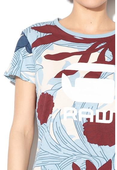 G-Star Raw Tricou din bumbac organic cu imprimeu logo cauciucat Lindelly Femei
