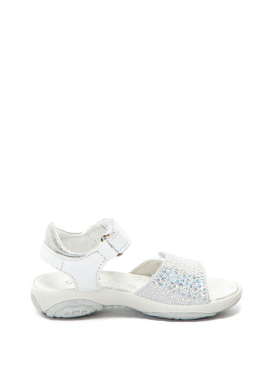 Primigi Кожени сандали с пайети Момичета
