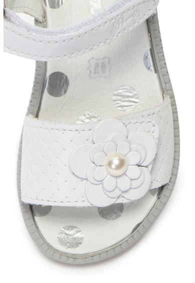 Primigi Sandale de piele cu aplicatie florala Fete