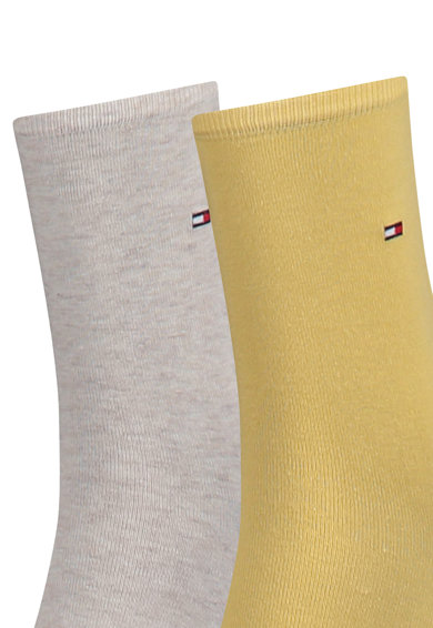 Tommy Hilfiger Къси чорапи с лого, 2 чифта Жени