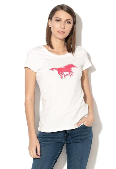 Mustang Tricou cu imprimeu grafic 7 Femei