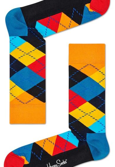 Happy Socks Uniszex rombuszmintás zokni női