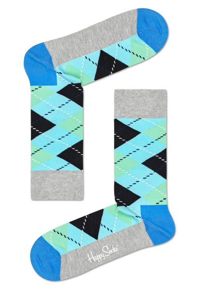 Happy Socks Sosete unisex Argyle Femei