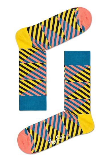 Happy Socks Унисекс раирани чорапи Жени