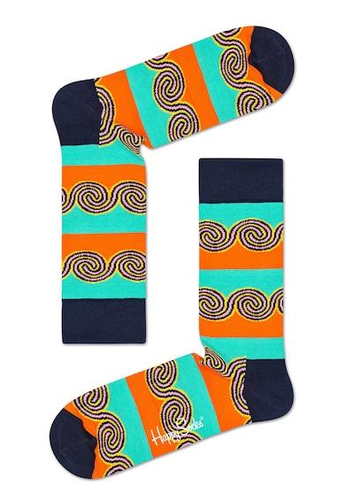 Happy Socks Унисекс къси чорапи с райе Жени