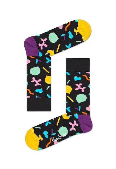 Happy Socks Set de sosete unisex cu imprimeu - 3 perechi Femei