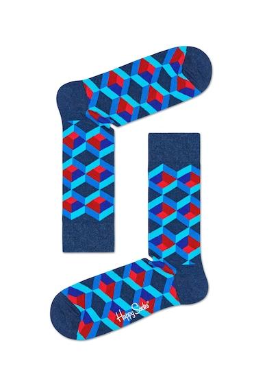 Happy Socks Set de sosete cu imprimeu - 4 perechi Femei