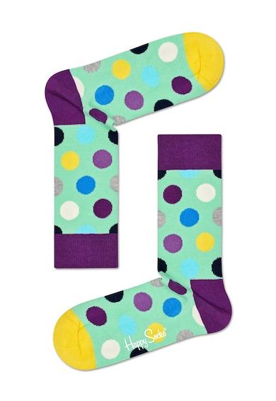 Happy Socks Set de sosete scurte unisex cu diverse imprimeuri - 3 perechi Femei