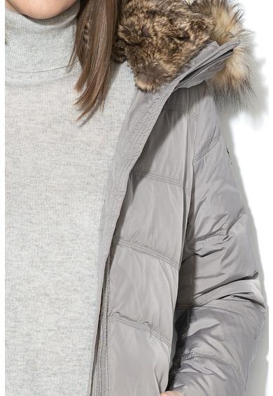 Esprit Подплатено зимно яке с пух и прибираща се качулка Жени