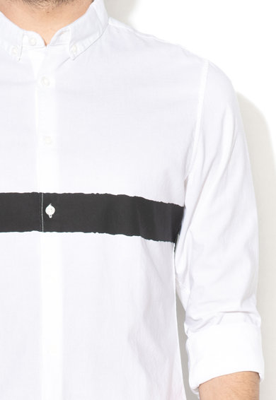 Lee Вталена риза с контрастен детайл Мъже