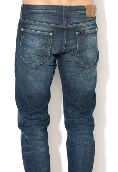 Lee Прави дънки 101 със захабен вид Мъже