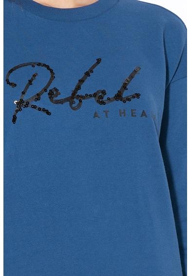 Big Star Bluza sport cu detaliu din paiete Shonda Femei