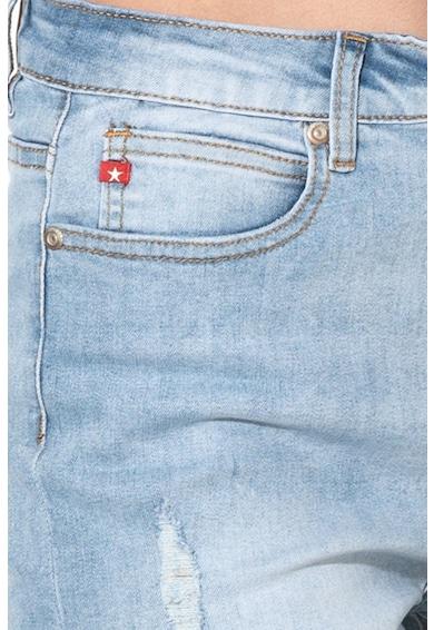 BIG STAR Pantaloni scurti din denim cu rupturi decorative Caroline Femei