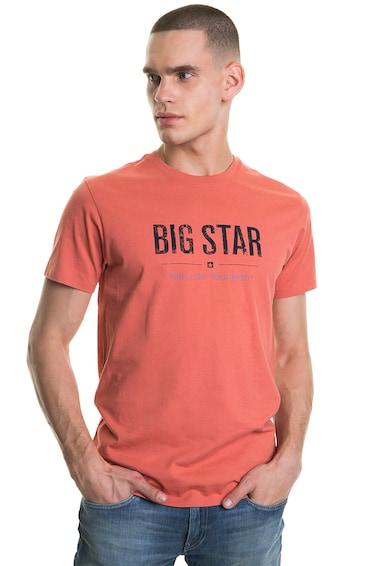Big Star Logómintás póló férfi