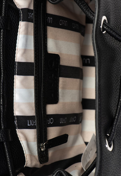 Liu Jo Műbőr hátizsák dekoratív öltésekkel női