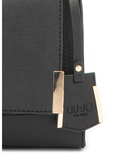 Liu Jo Műbőr keresztpántos táska fémlogóval női
