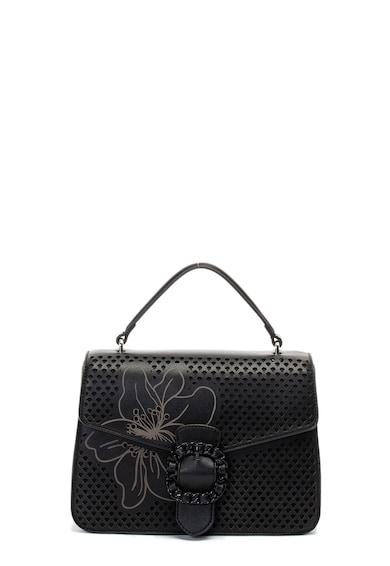 Liu Jo Műbőr keresztpántos táska perforált dizájnnal női