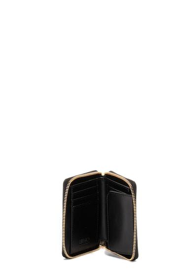 Liu Jo Texturált hatású cipzáros műbőr pénztárca női
