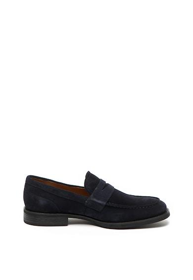 Vagabond Shoemakers Pantofi loafer penny de piele intoarsa Mario Barbati