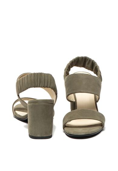 Vagabond Shoemakers Sandale de piele intoarsa cu toc masiv Penny Femei