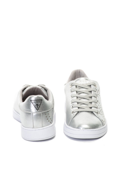 Guess Pantofi sport de piele ecologica cu perforatii Femei