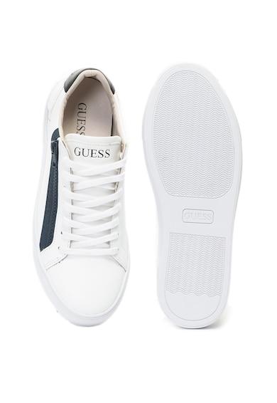 Guess Спортни обувки от кожа и еко кожа Мъже