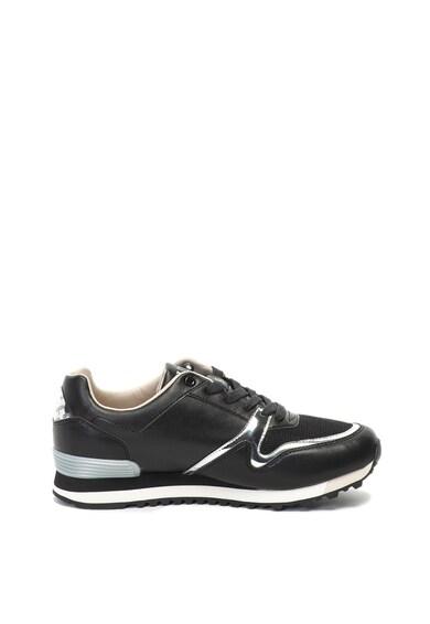 Guess Pantofi sport de piele ecologica cu detalii metalizate Barbati
