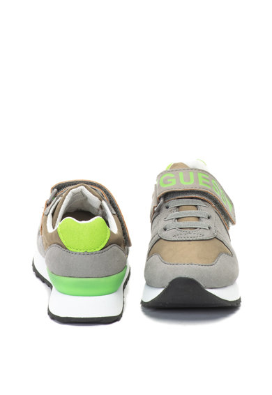Guess Спортни обувки от еко велур с лого Момичета