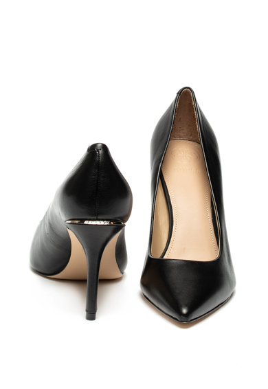 Guess Pantofi de piele cu varf ascutit Femei