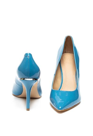Guess Pantofi cu aspect lacuit si varf ascutit Femei