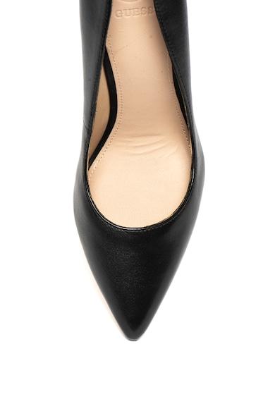 Guess Pantofi cu varf acutit, de piele Femei