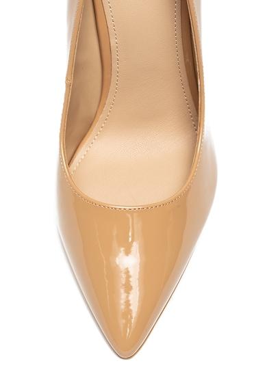 Guess Pantofi stiletto de piele ecologica cu varf ascutit si aspect lacuit Femei