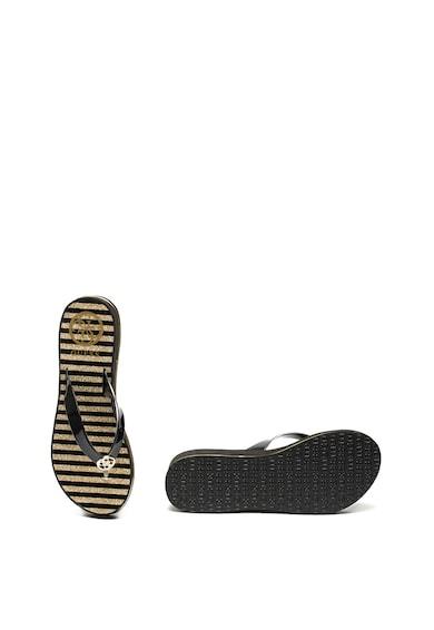 Guess Papuci flip-flop cu platforma wedge Femei