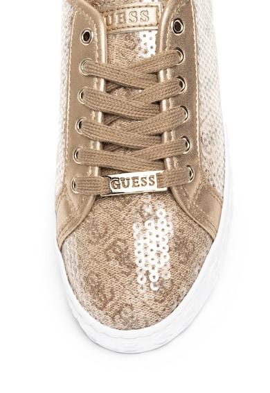 Guess Flitteres sneaker logós részletekkel női