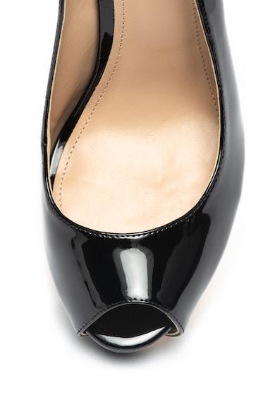 Guess Pantofi slingback de piele ecologica, cu varf decupat Femei