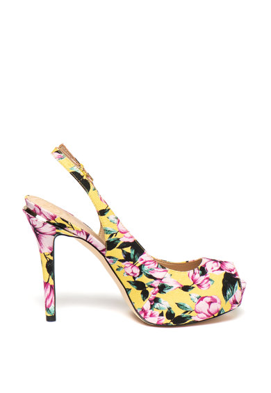 Guess Sandale stiletto cu model floral Femei
