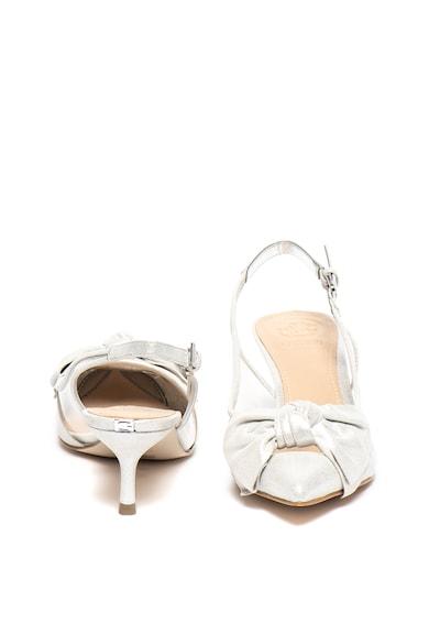 Guess Pantofi slingback de piele intoarsa cu varf ascutit si funda Femei