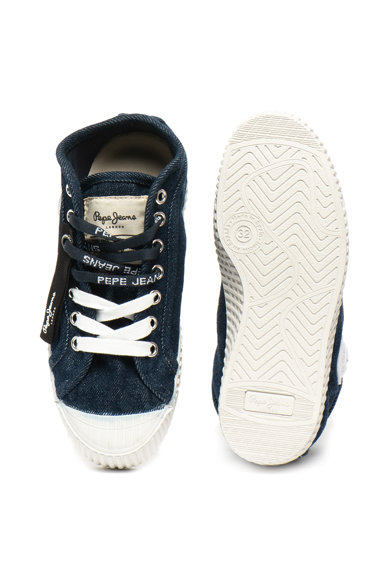 Pepe Jeans London Tenisi cu aspect de denim IN-G Fete