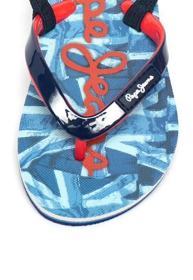 Pepe Jeans London Papuci flip-flop de cauciuc cu bareta pe partea din spate Fete