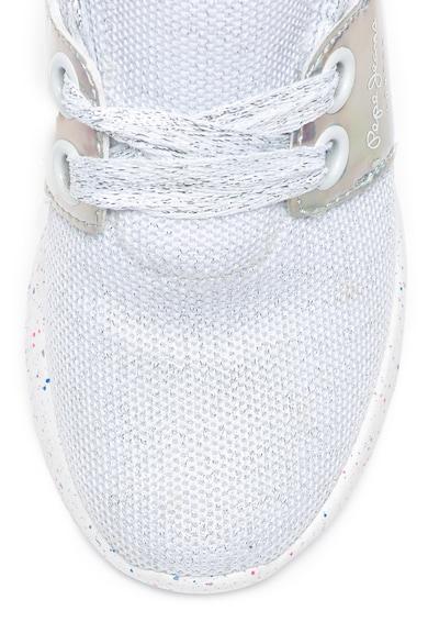 Pepe Jeans London Pantofi sport slip-on cu talpa cu pete decorative Jayden Fete