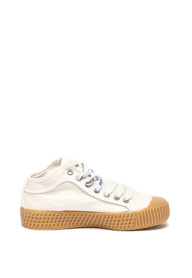 Pepe Jeans London Tenisi mid-high din material textil In-G Fete