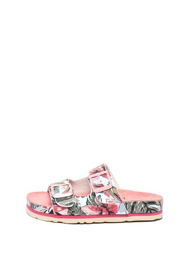 Pepe Jeans London Papuci cu imprimeu floral Bio Tropic Fete