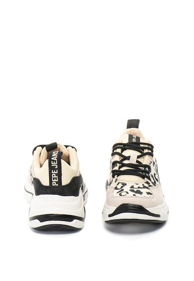 Pepe Jeans London Pantofi sport cu animal print Sinyu Femei
