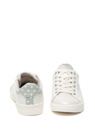 Pepe Jeans London Pantofi sport cu varf lucios Kioto Dotty Femei