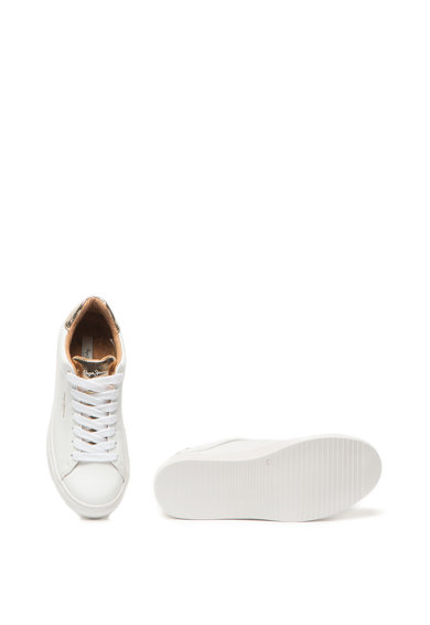 Pepe Jeans London Pantofi sport de piele si piele ecologica Adams Femei