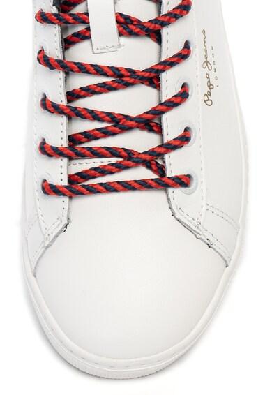 Pepe Jeans London Pantofi sport de piele Roxy Premium Femei