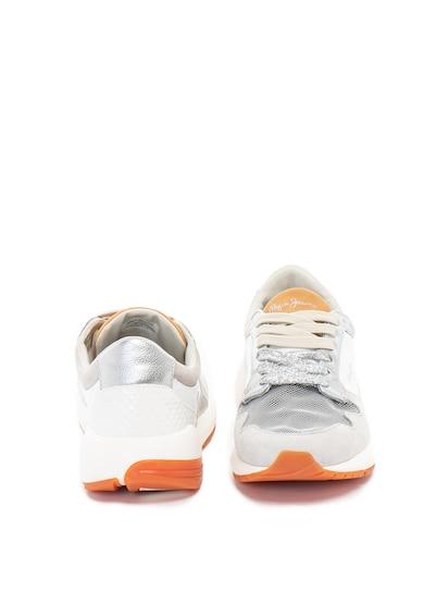 Pepe Jeans London Pantofi sport cu garnituri de piele intoarsa Foster Maya Femei